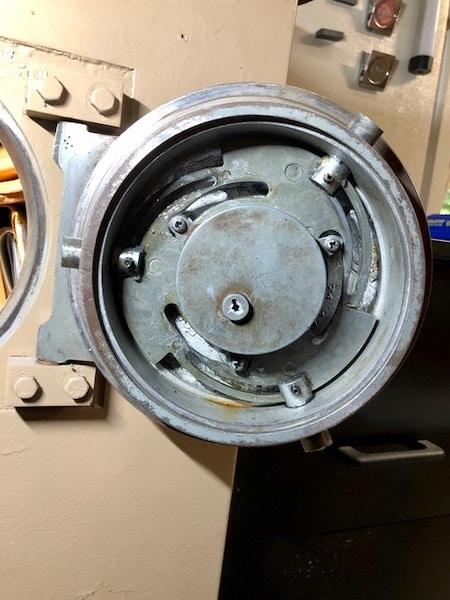 inside view of a gun safe